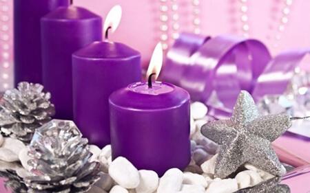 Пурпурная свеча
