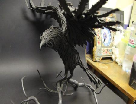 статуэтки птиц