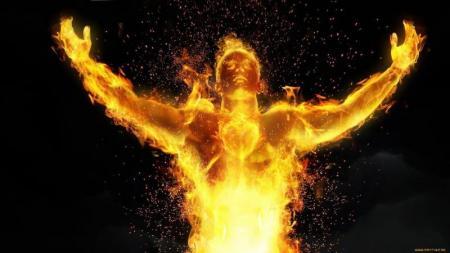 Взаимодействие состихией огня
