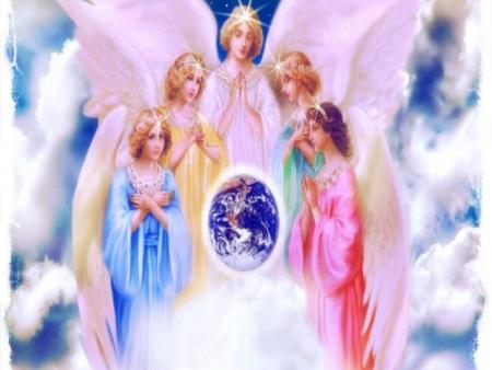 Храните, Ангелы